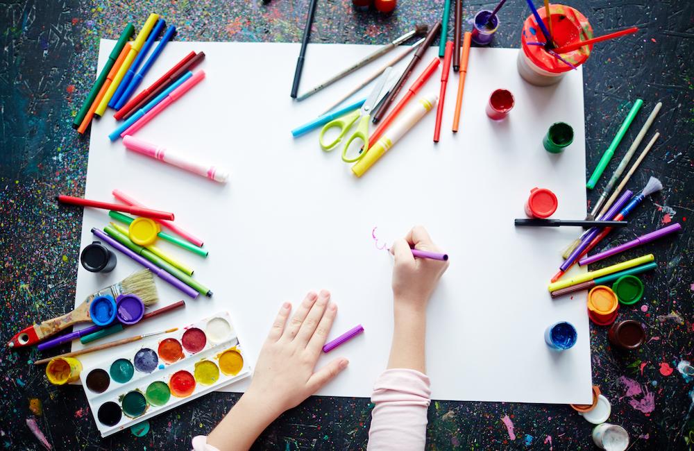 daytime art class